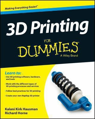 3D Printing for Dummies cover