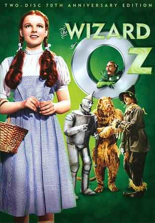 Wizard of Oz DVD cover