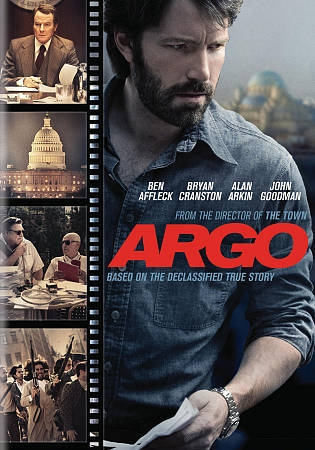 Argo DVD cover.
