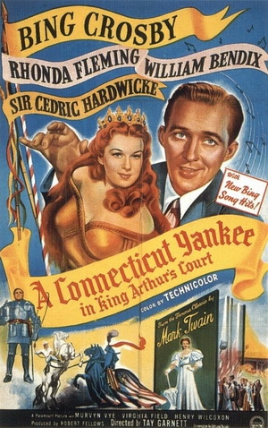 film poster for Connecticut Yankee