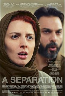Cover image for the DVD of the Iranian movie A Separation.
