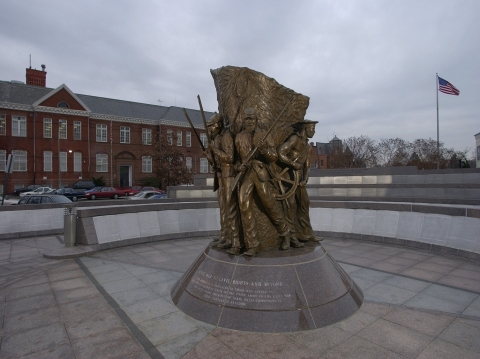 African American Civil War Memorial Front