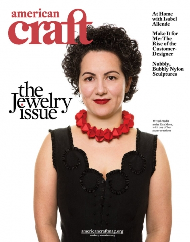 Cover of American Craft Magazine Jewelry Issue