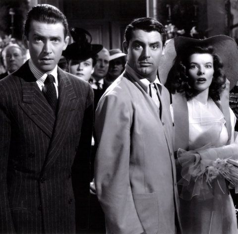 "still shot from the movie ""The Philadelphia Story"""