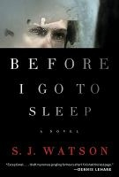 Before I Go to Sleep bookcover