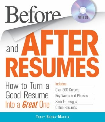 Before and After Resumes