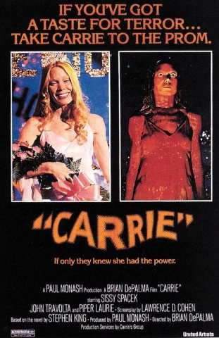 Carrie Original Theatrical Poster