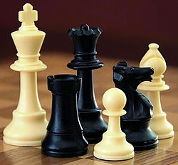 Picture of chess pieces