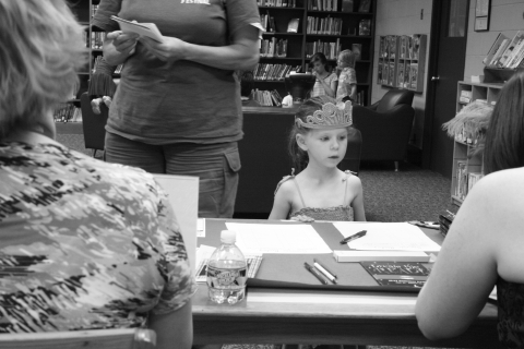 Signing up for summer reading