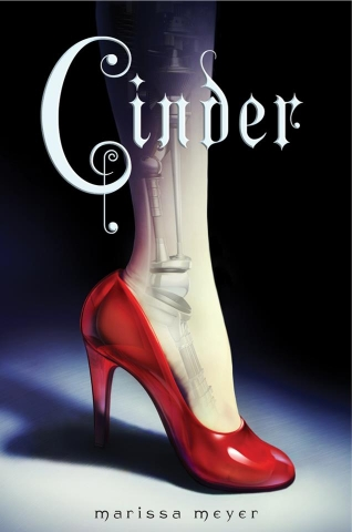 Book Cover - Cinder, by Marissa Meyer