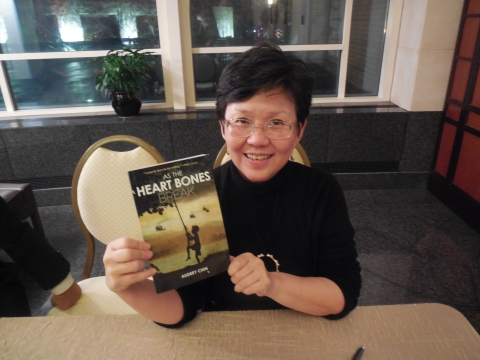 Author Audrey Chin