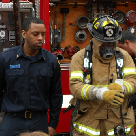 Photo:  DCFD Firefighters