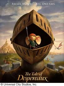 The Tale of Despereaux movie poster