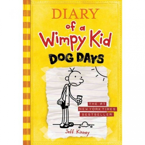 Diary of A Wimpy Kid Dog Days Book Cover