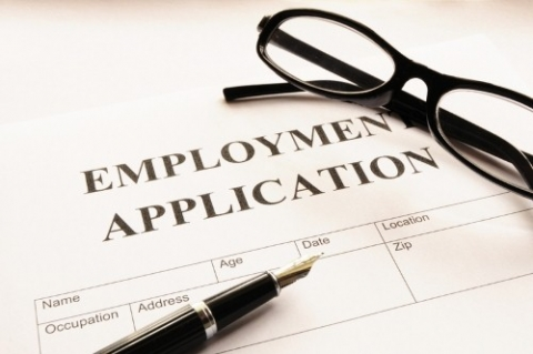 Employment Application Graphic