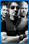 Fan art for the action movie The Expendables.