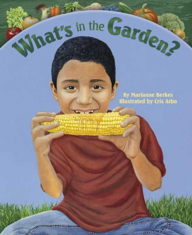 What's in the Garden Book Cover Art