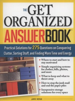 Get Organized Answer Book