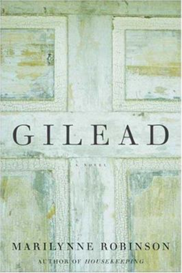 Picture of the cover of Gilead