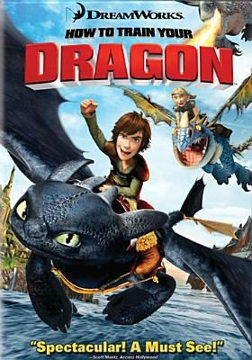 """DVD cover of """"How to train your dragon"""" movie"""