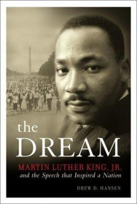 """Dr. King on Cover of """"the Dream"""" book"""