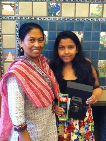 Picture of Leena and her mother