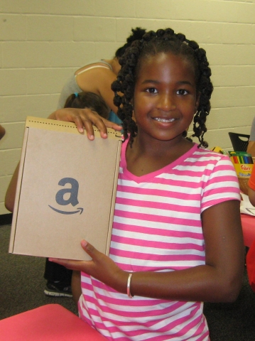 Photo of Lauren Paige W. Summer Reading Kindle Winner, Cleveland Park Library