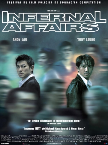 Poster for the film Infernal Affairs