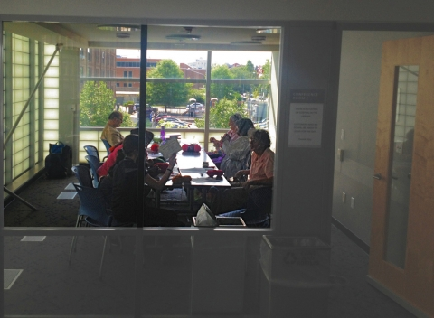Picture of Watha T. Daniel Adult Knitting Circle