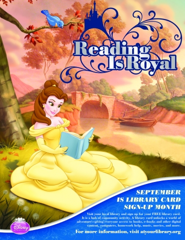Reading is royal image