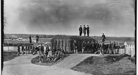 Fort Stevens was part of the Defenses of Washington during the Civil War.