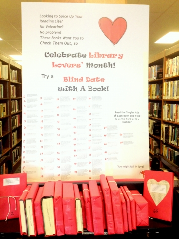 Library Lovers Month Book Display