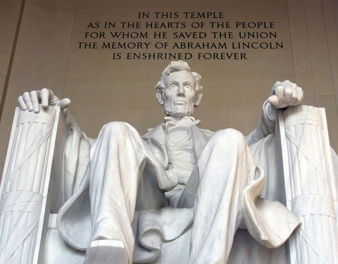 Photo of the Lincoln Memorial