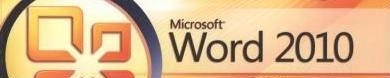 Image with text: Microsoft Word 2010
