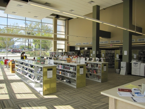 NW One Library Interior