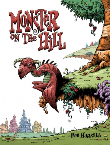 Cover image of Monster on the Hill
