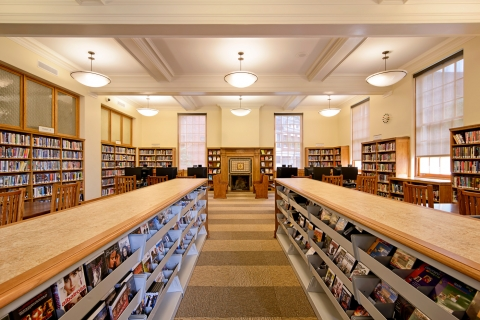 New Adult Reading Room