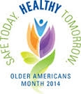 Image of Display for Older Americans Month