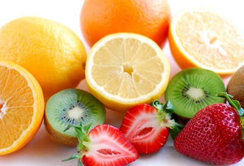 Picture of fruits ready to eat.