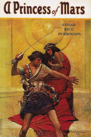 Cover for A Princess of Mars, 1917 ed. courtesy of Wikimedia Commons