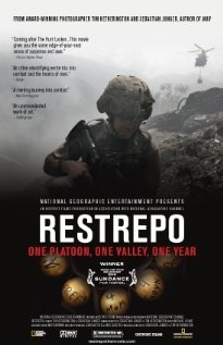 Image of the poster for Restrepo