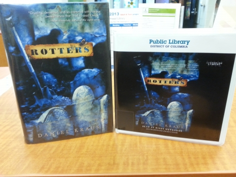 Book and Audio book of title Rotters by Daniel Kraus