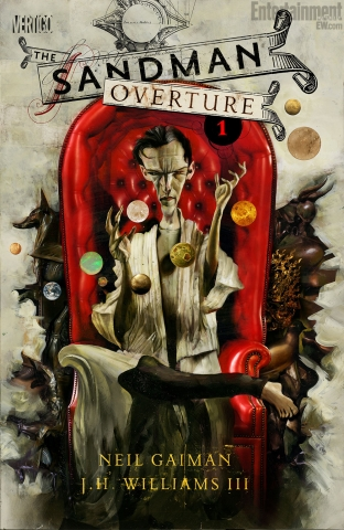 Cover of Sandman Overture #1