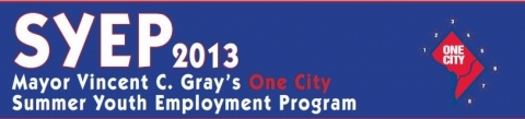Summer Youth Employment Program Banner