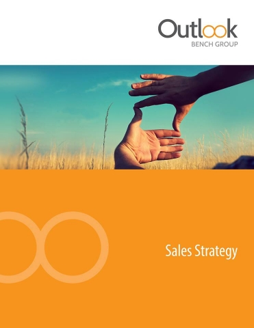 Sales As A Strategy bookcover