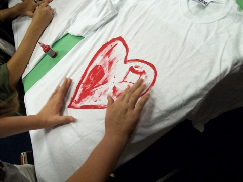 T-Shirt Painting Activity
