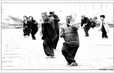 Picture of T'ai Chi practitioners