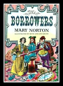 """Cover page of """"The Borrowers"""" by Mary Norton"""