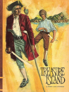 "Picture of book cover for ""Treasure Island"""