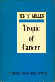 """Image of book cover for """"Tropic of Cancer"""""""